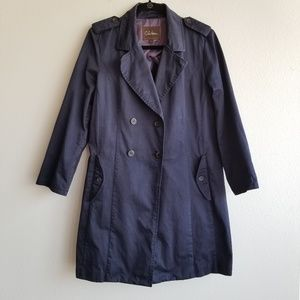 Cole Haan   navy   trench   12